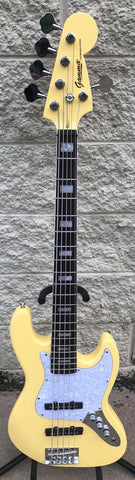 GAMMA [SOLD] Custom J518-02, 5 String Beta Model, Mello Yellow