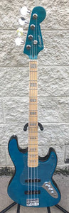 GAMMA [SOLD] Custom J18-05, Beta Model, Quilted Flame Blue