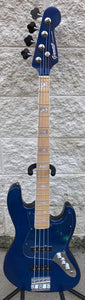 GAMMA [SOLD] Custom J21-01 Beta Model, Quilted Flame Blue