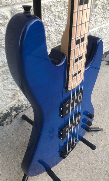 GAMMA [SOLD] Custom H19-01, Kappa Model, Quilted Flame Blue
