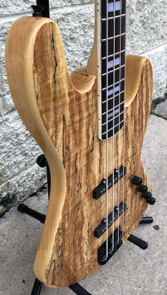 GAMMA [SOLD] Custom J19-02 Beta Model, Spalted Maple