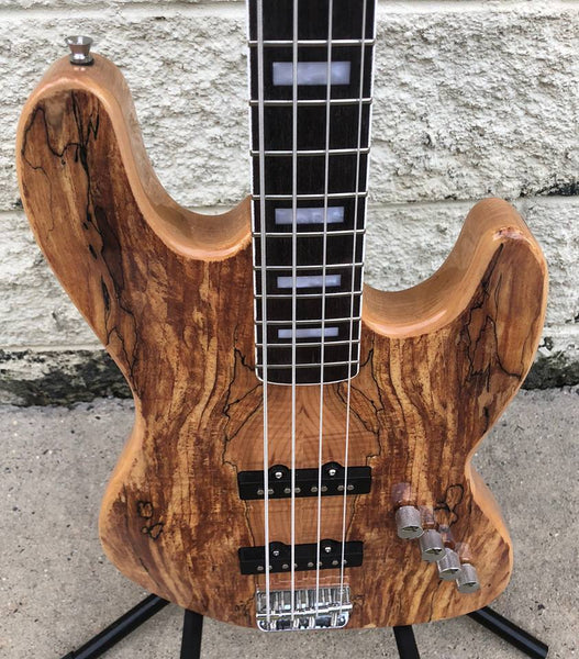 GAMMA [SOLD] Custom J18-03, Beta Model, Spalted Maple