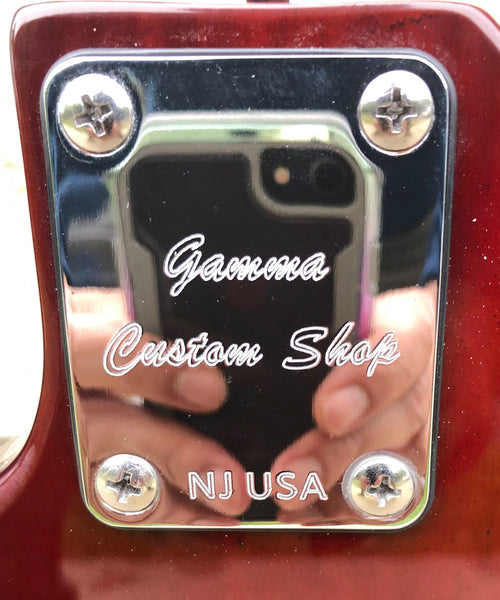 GAMMA [SOLD] Custom P519-01, Alpha Model, Transparent Bordeaux Mocha Ash