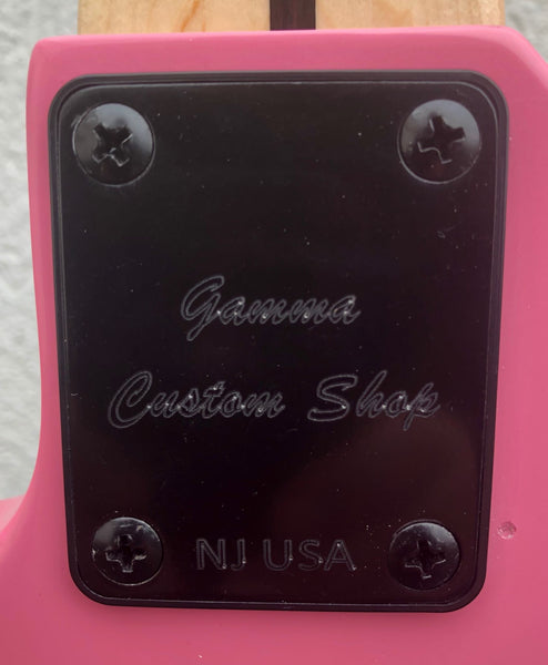 GAMMA [SOLD] Custom H519-04, Kappa Model 5 String, Mambo Pink