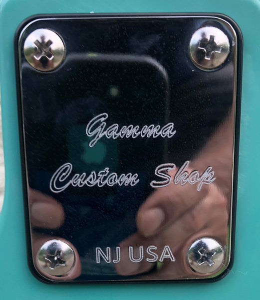 GAMMA [SOLD] Custom T18-02, Delta Star Model, Capri Green