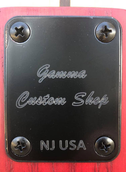 GAMMA [SOLD] Custom J20-05 Beta Model, Transparent Valencia Red Ash