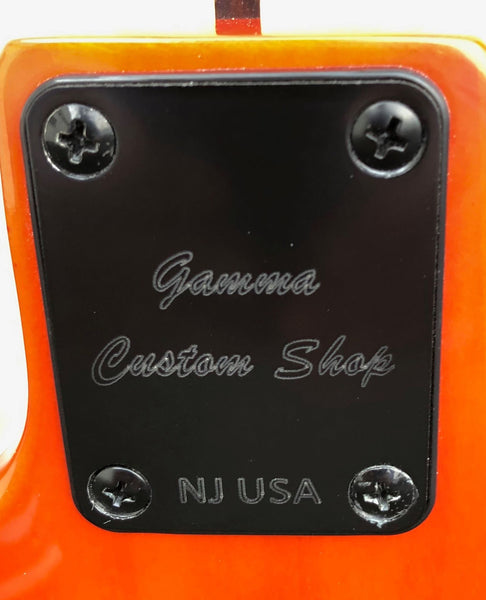 GAMMA [SOLD] Custom J19-04, Beta Model, Quilted Kona Orange