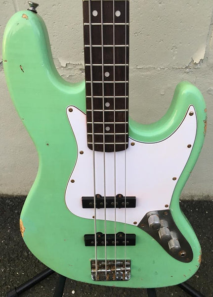 GAMMA Custom J17-09, Roadworn & Relic'd Beta Model, Marina Green