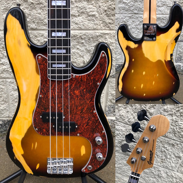 GAMMA [SOLD] Custom P20-01, Alpha Model, Road-Worn Tobacco Burst