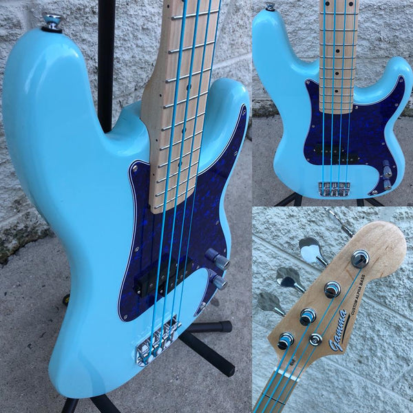 GAMMA [SOLD] Custom P18-01, Alpha Model, Retro Sonic Blue