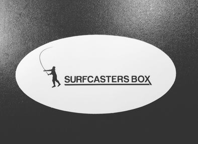 Surfcasters Box Sticker
