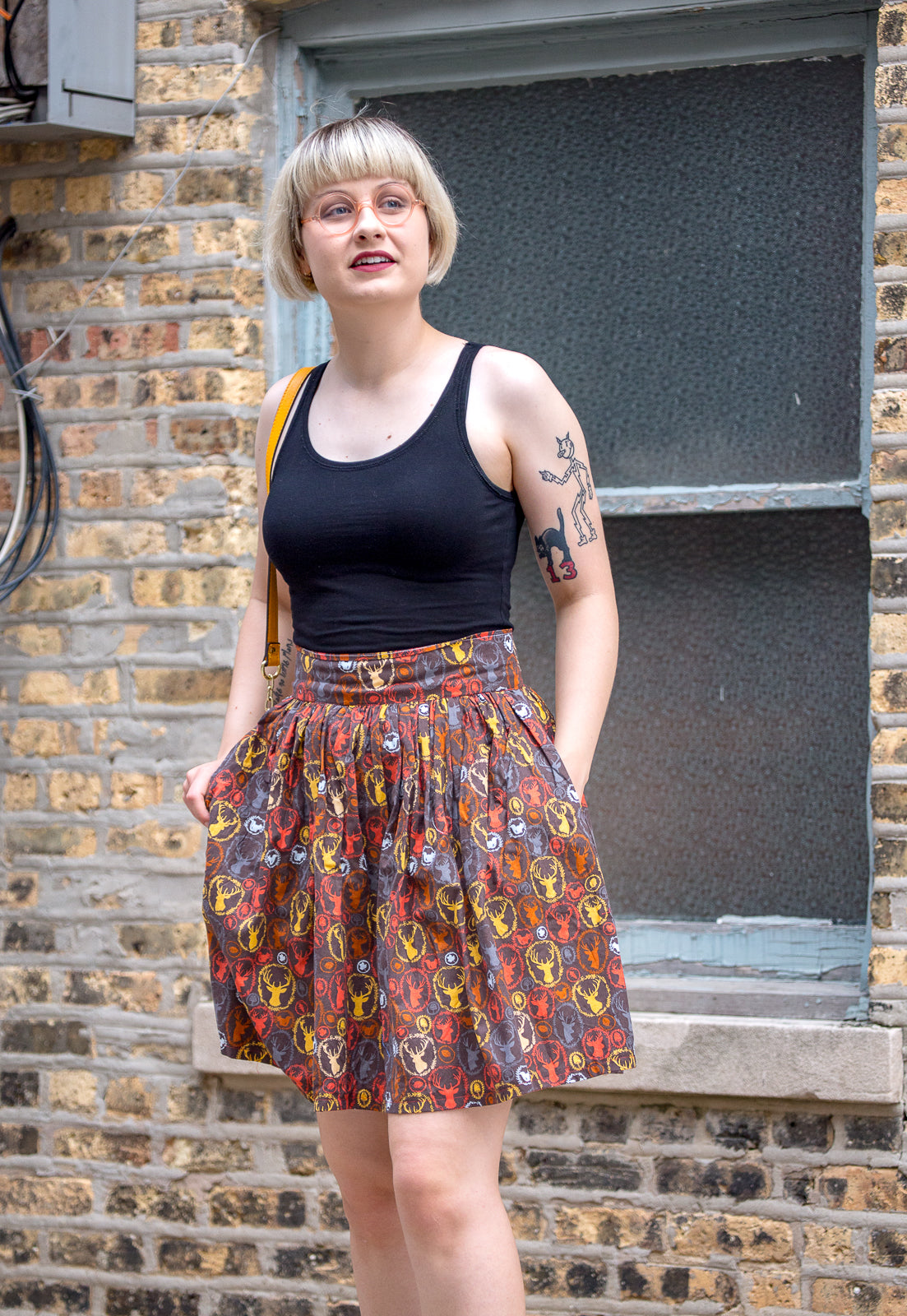 Autumnal Enchanted Woodland Skirt | (hand)Made to Order