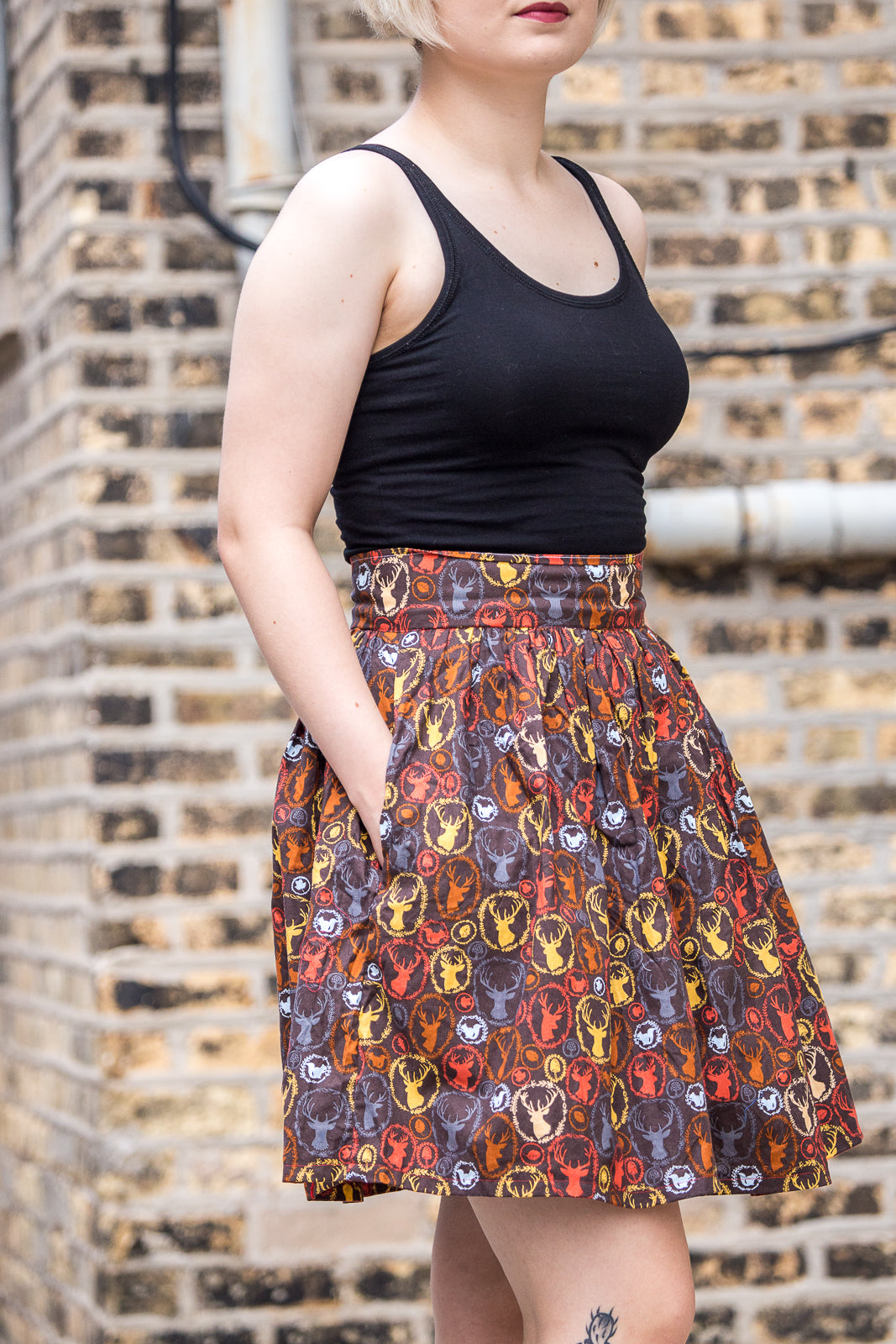 Autumnal Enchanted Woodland Skirt | Ready to Wear