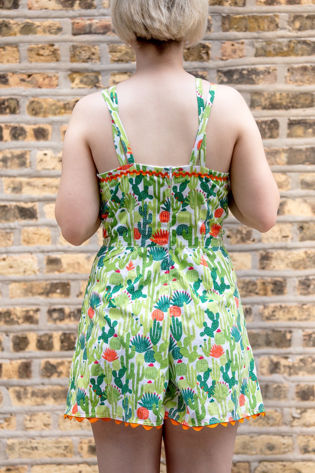 Cactus Romper | (hand)Made to Order