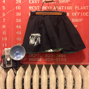 The Ikon Reversible Camera Skirt | Girl's Size 6