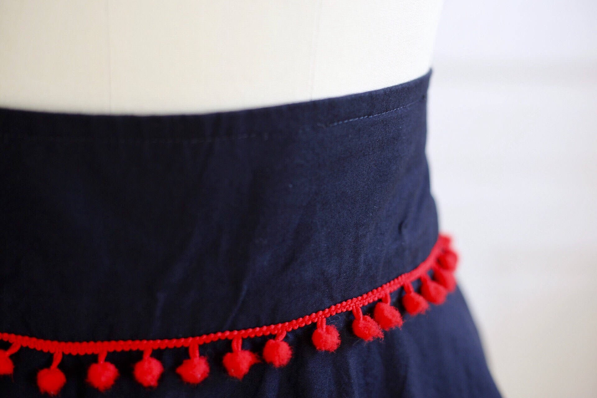 Playing Card Circle Skirt in Spade