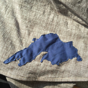 Lake Superior Flared A-Line Skirt