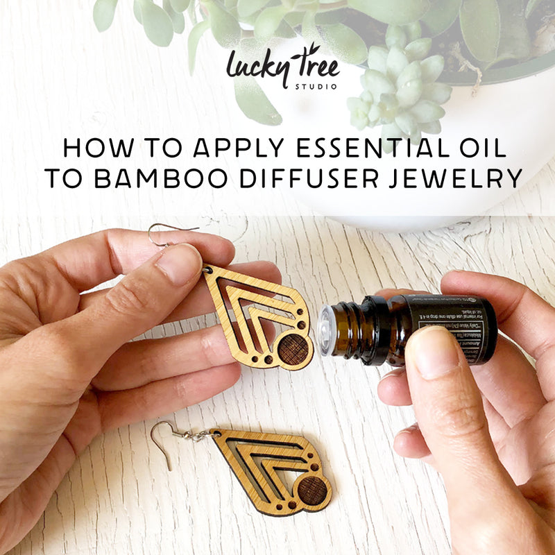 How to Apply Essential Oils to Bamboo Diffuser Jewelry