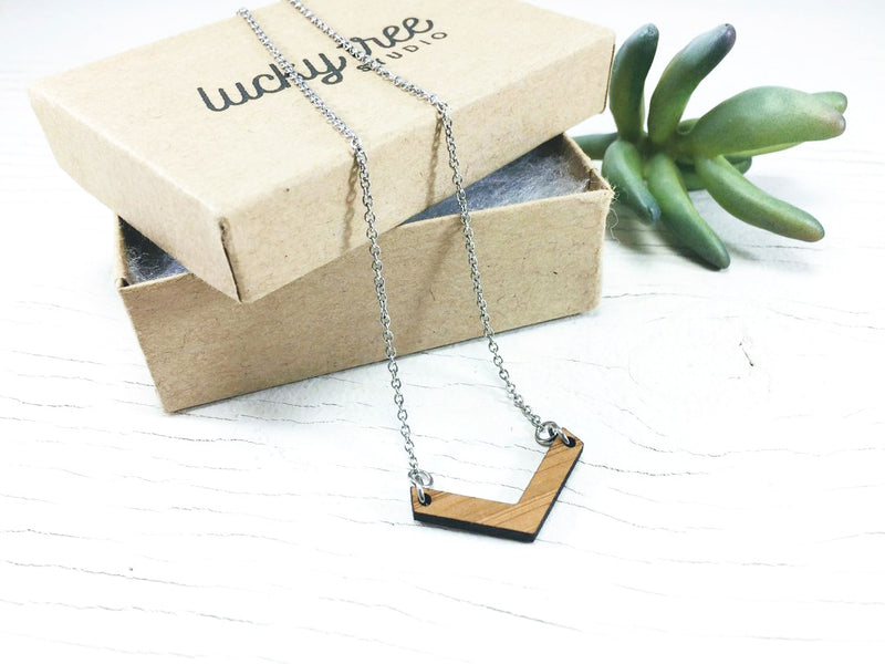 Chevron Choker Layering Necklace