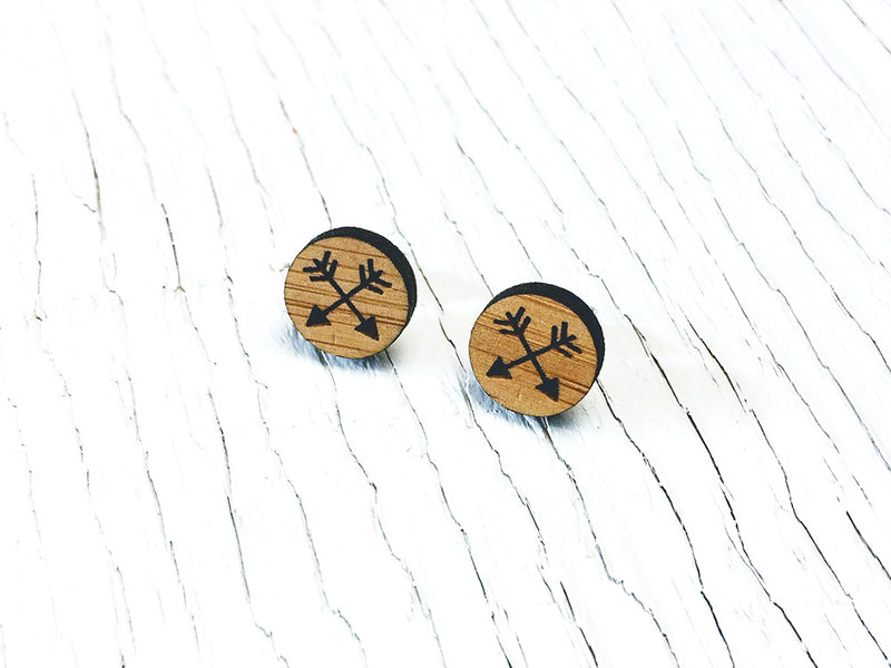 Arrow Stud Earrings