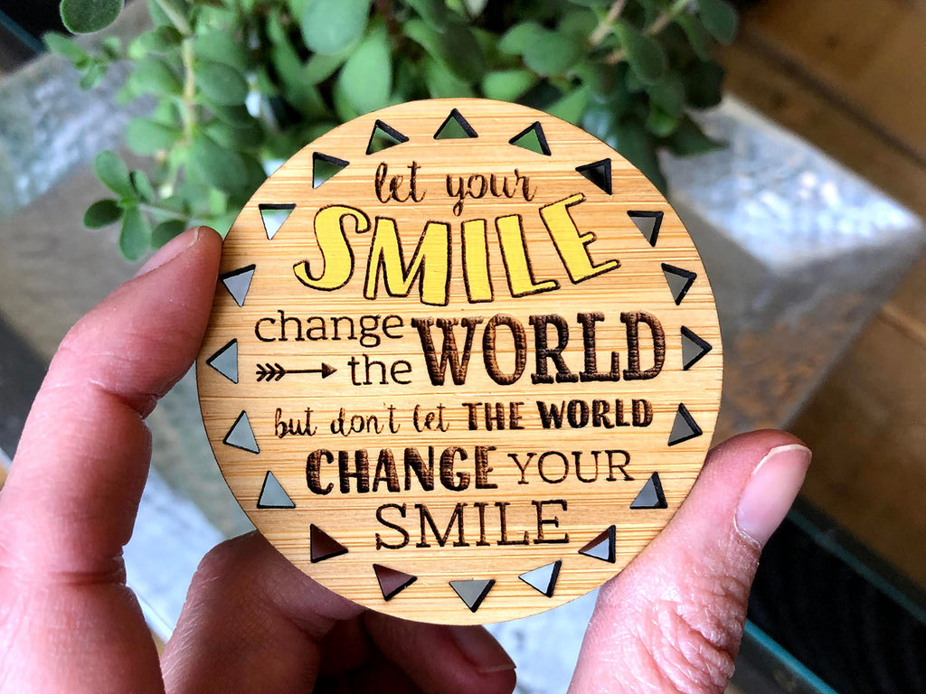 Change the World Magnet