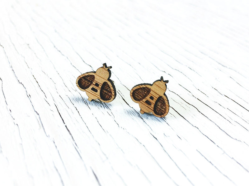 Dog Paw Stud Earrings