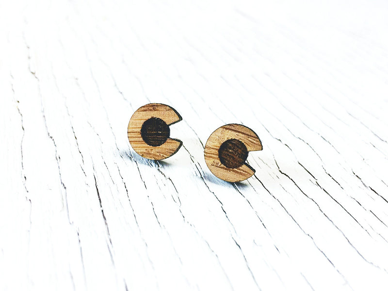 Chicken Stud Earrings
