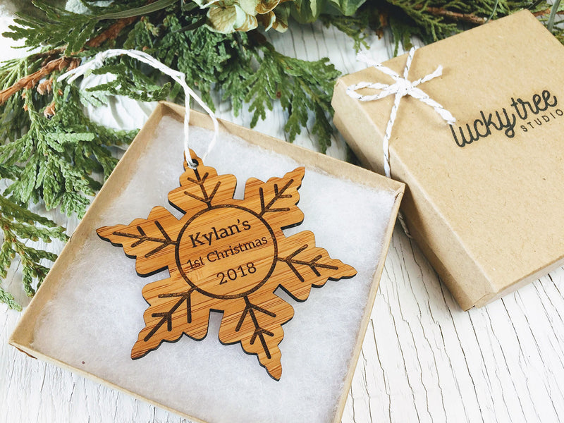 Custom Snowflake Ornament