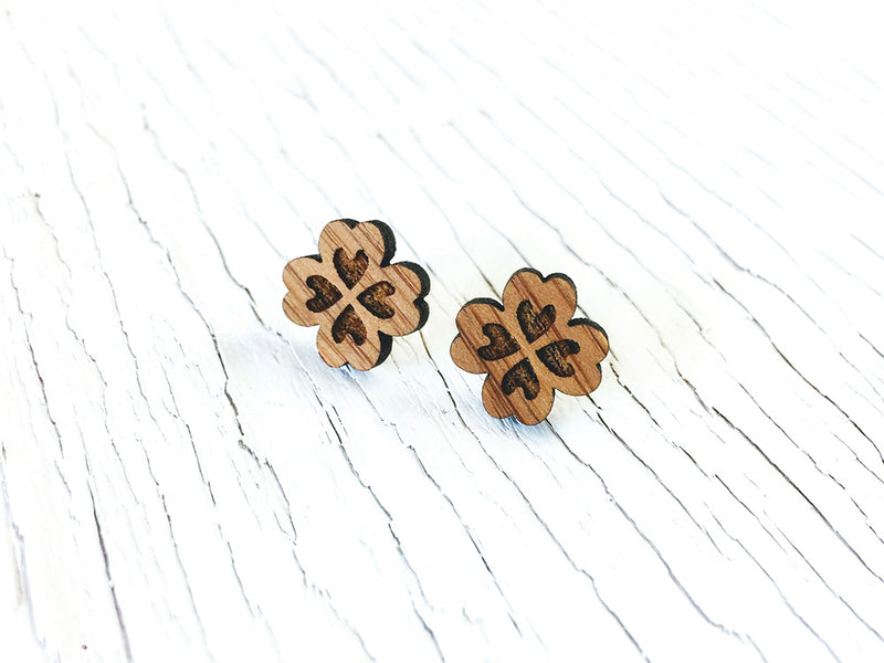 Infinity Stud Drop Diffuser Earrings