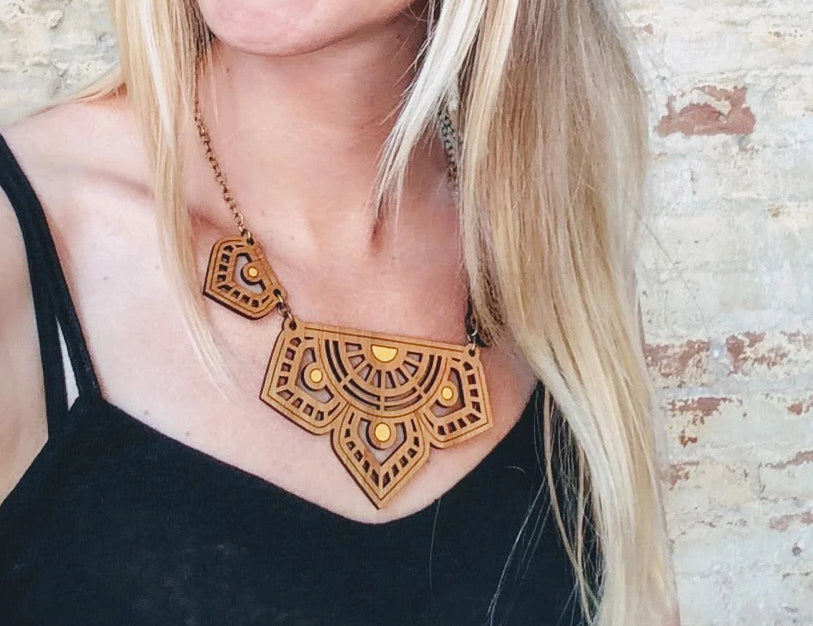 Eastern Bloom Statement Necklace