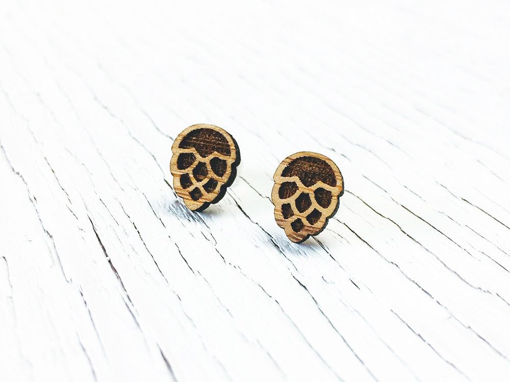 Hops Stud Earrings