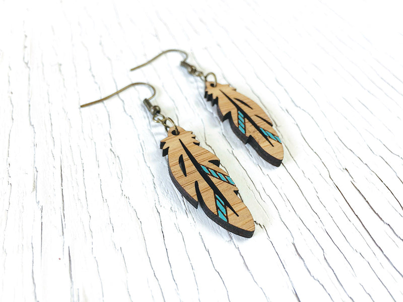 Deco Wing Diffuser Earrings