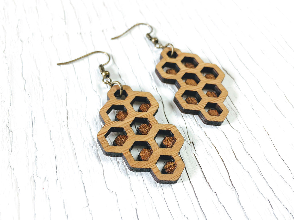 Honeycomb Diffuser Earrings