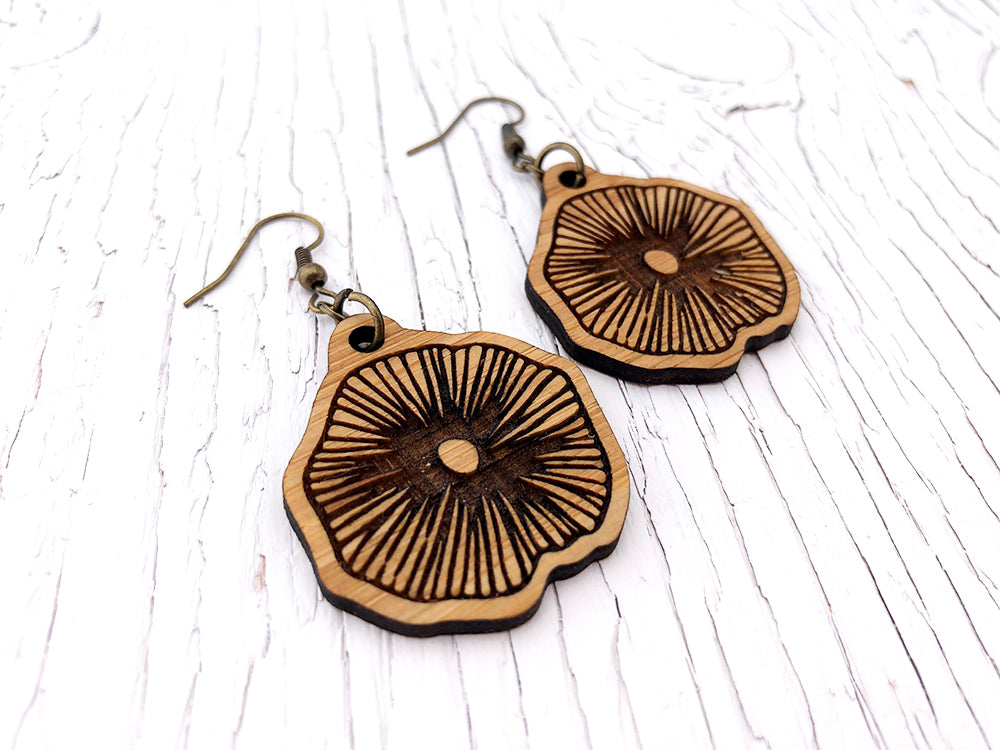 Mushroom Diffuser Earrings