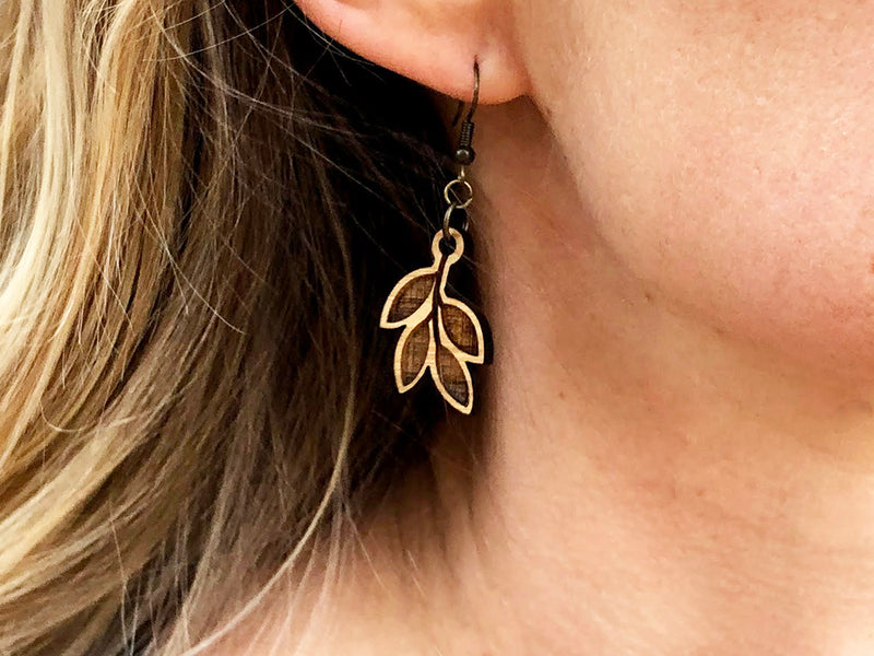 Olive Branch Diffuser Earrings