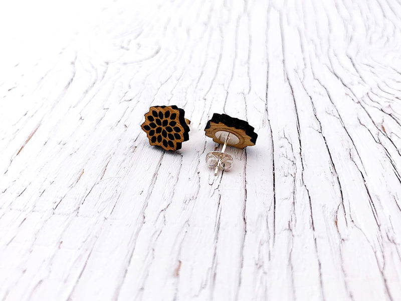 Desert Bloom Diffuser Stud Earrings