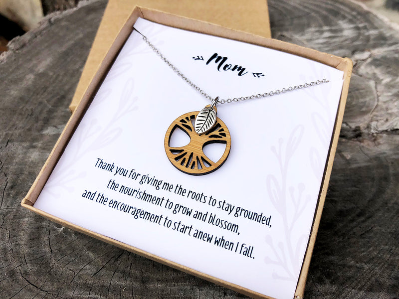 Mother's Day Tree of Life Necklace