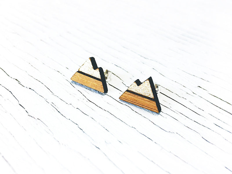 Moon Phase Stud Drop Diffuser Earrings