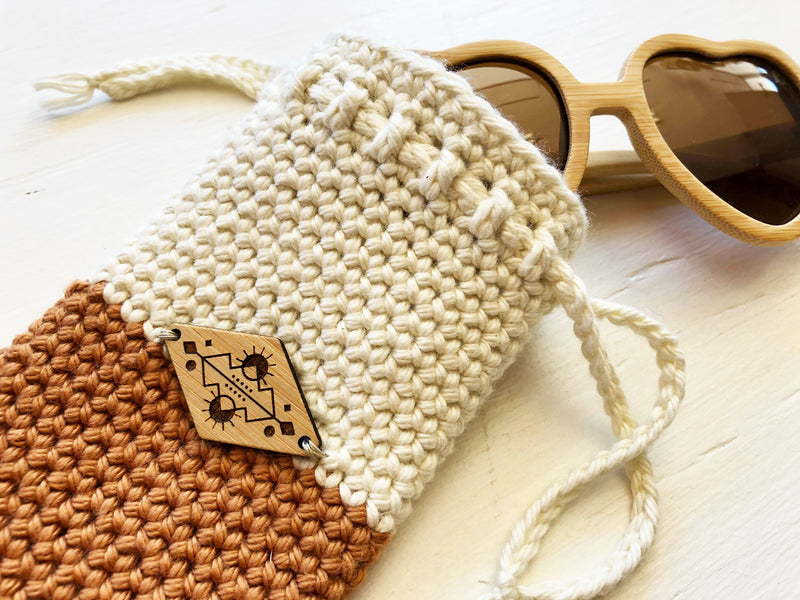 Crochet Sunglasses Case