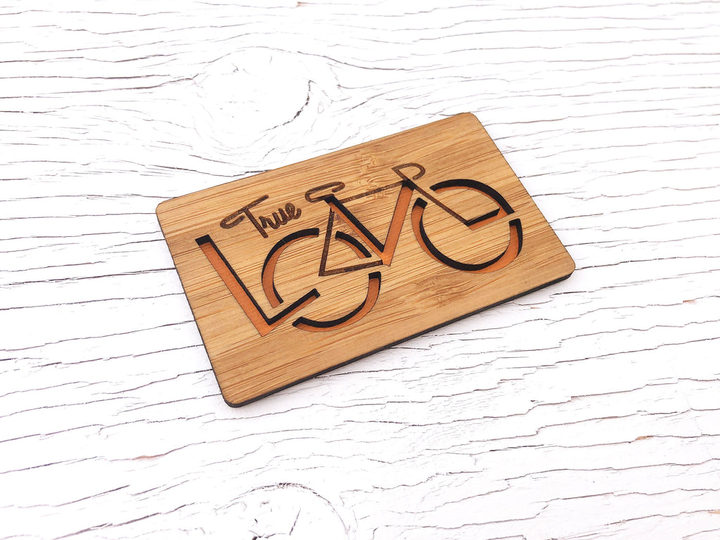 True Love Bicycle Magnet