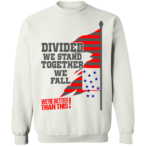 Divided-Sweatshirt  8 oz.-Men's Wear