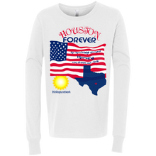 3501Y Bella + Canvas Youth Jersey LS T-Shirt-Houston-mens ware
