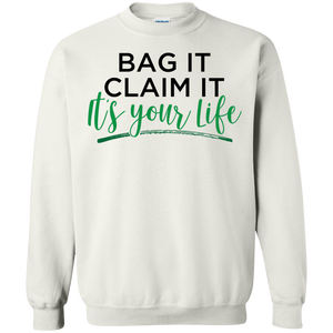 Bag it- Crewneck Pullover Sweatshirt  8 oz.