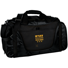 BG1050 Port Authority Medium Color Block Gear Bag-Buffalo