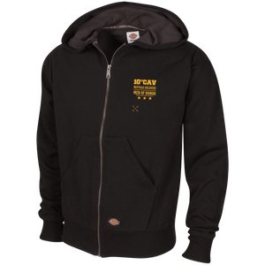 TW382 Dickies Thermal Fleece Hoodie-Buffalo