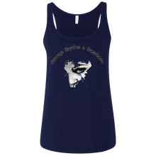 Courage- Bella + Canvas Ladies' Relaxed Jersey Tank
