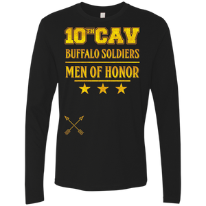 NL3601 Next Level Men's Premium LS-10th Cav