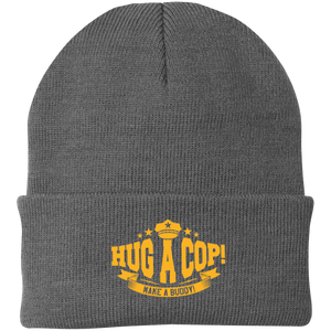 CP90 Port Authority Knit Cap-Hug A Cop