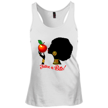 District Junior's Racerback Tank Top-Bite