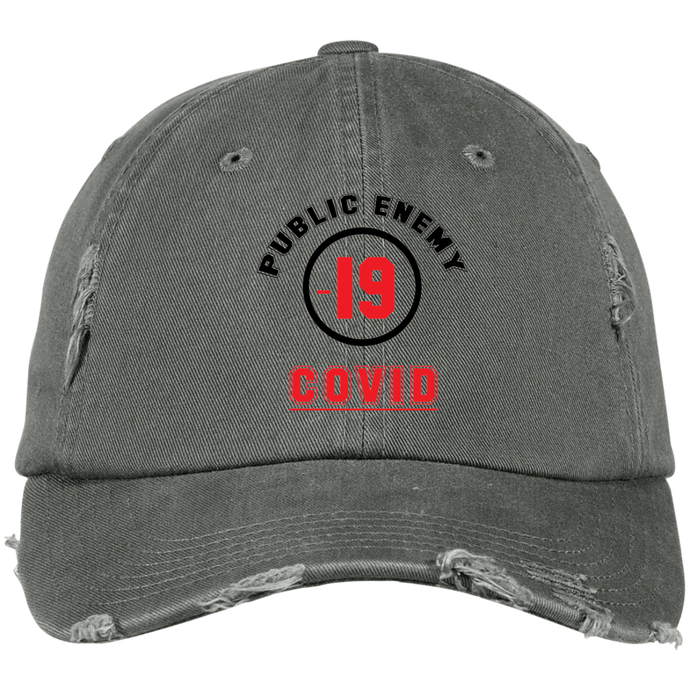 Distressed Dad Cap-mens wear